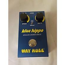 Way Huge Electronics Blue Hippo Analog Chorus MKIII Effect Pedal