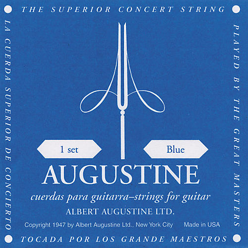 Albert Augustine Blue Label Classical Guitar Strings