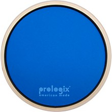 ProLogix Percussion Blue Lightning Practice Pad With Rim