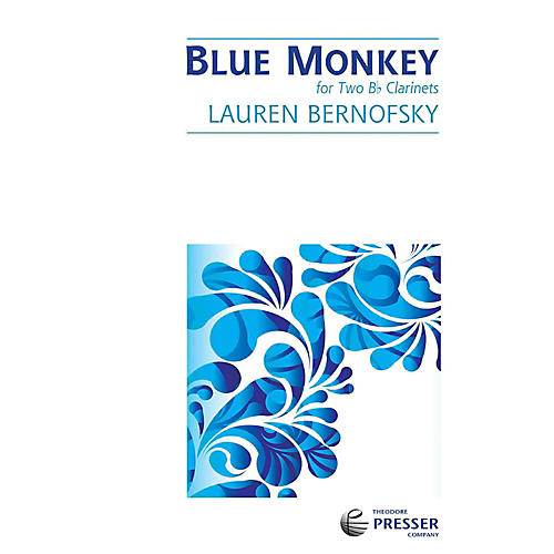 Carl Fischer Blue Monkey - Clarinet Duet