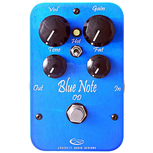 Rockett Pedals Blue Note Overdrive Guitar Effects Pedal