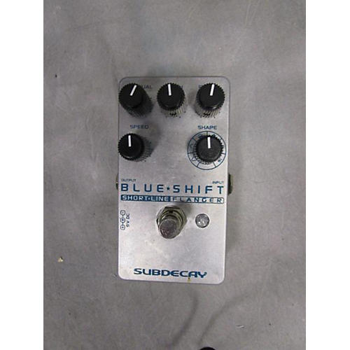 Subdecay Blue Shift Effect Pedal