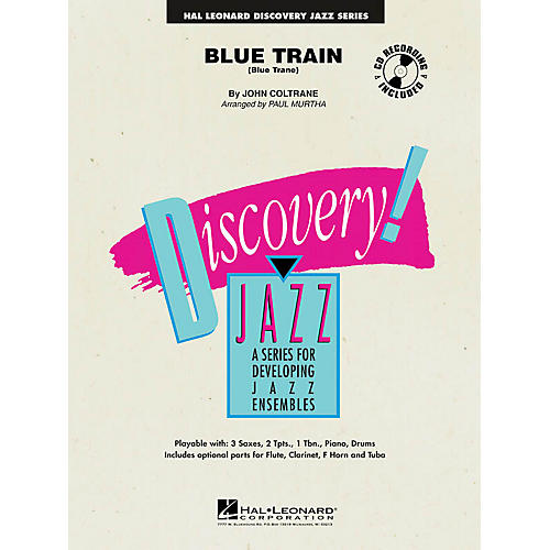 Hal Leonard Blue Train (Blue Trane) Jazz Band Level 1-2 Arranged by Paul Murtha
