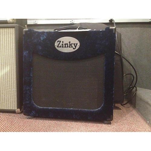 used zinky blue velvet tube guitar combo amp guitar center. Black Bedroom Furniture Sets. Home Design Ideas