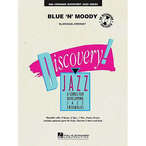Hal Leonard Blue 'n' Moody Jazz Band Level 1 Composed by Michael Sweeney