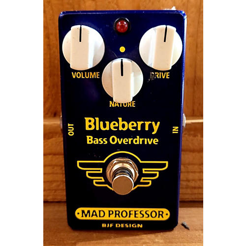 Mad Professor Blueberry Bass Overdrive Bass Effect Pedal