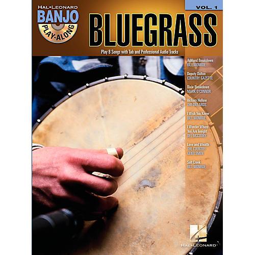 Hal Leonard Bluegrass Banjo Play-Along Volume 1 Book/CD