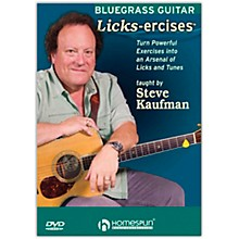 Homespun Bluegrass Guitar Licks-Ercises - DVD