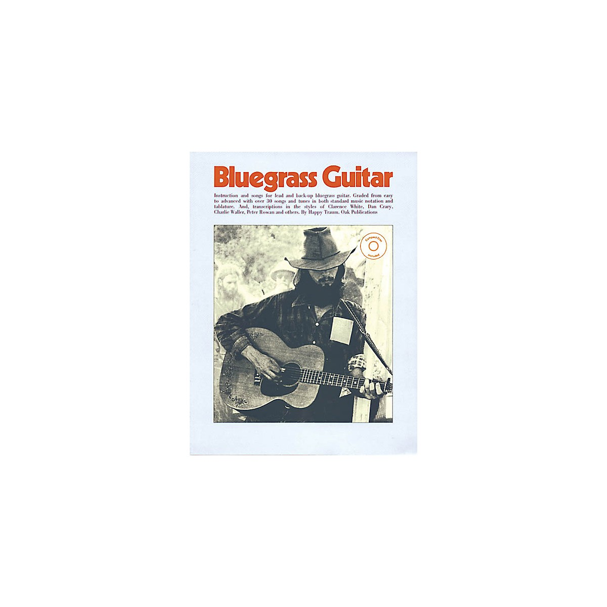 Oak Bluegrass Guitar Music Sales America Series Softcover with CD Written by Happy Traum