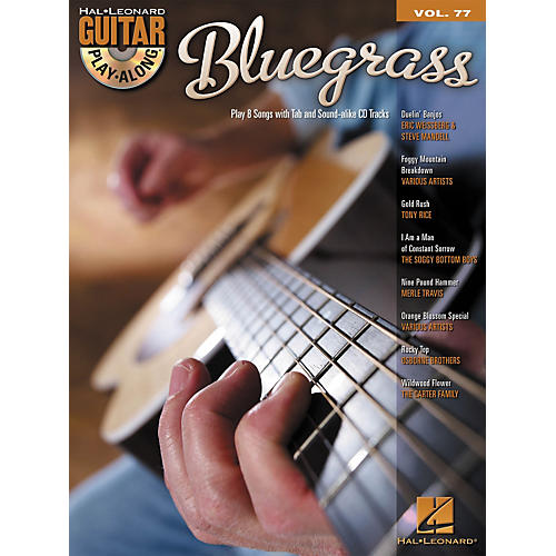 Hal Leonard Bluegrass Guitar Play-Along Volume 77 Songbook/CD