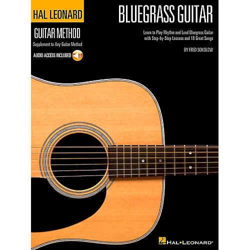 Hal Leonard Bluegrass Guitar Stylistic Supplement To The Hal Leonard Guitar Method (Book/CD)