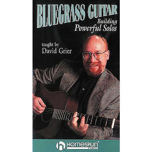 Homespun Bluegrass Guitar (VHS)