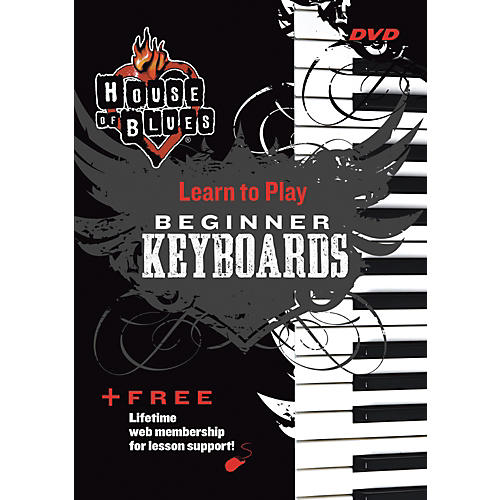 Hal Leonard Blues Beginner Keyboards DVD