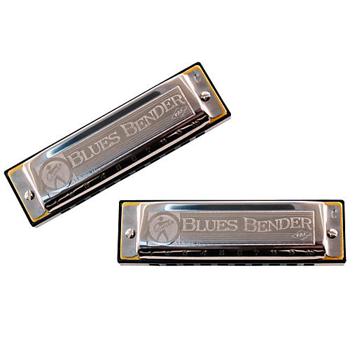 Hohner Blues Bender P.A.C. Harmonica (2 Pack)