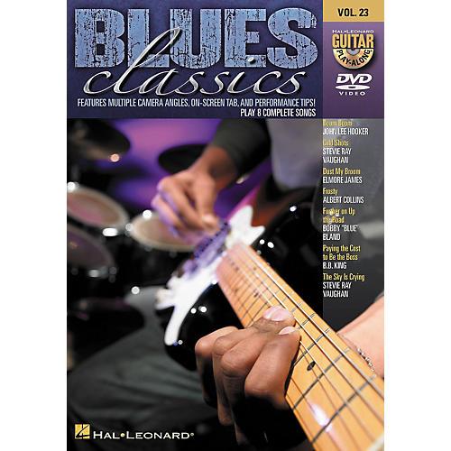 Hal Leonard Blues Classics - Guitar Play-Along DVD Volume 23