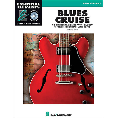 Hal Leonard Blues Cruise Book/CD Mid Intermediate EE Guitar Repertoire