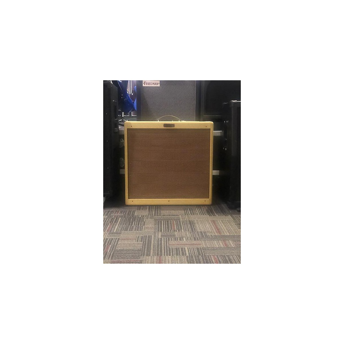 Fender Blues Deville 60W 4x10 Tweed Tube Guitar Combo Amp