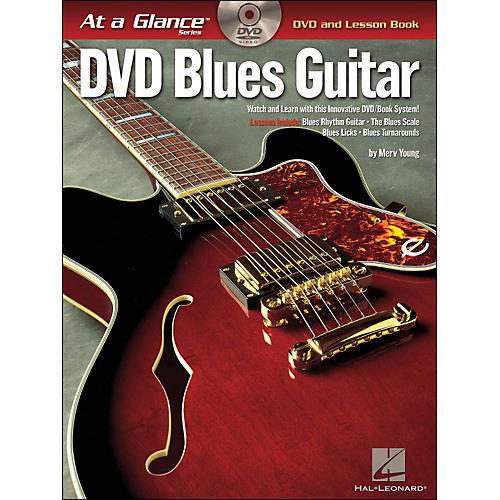 Hal Leonard Blues Guitar At A Glance Book/DVD