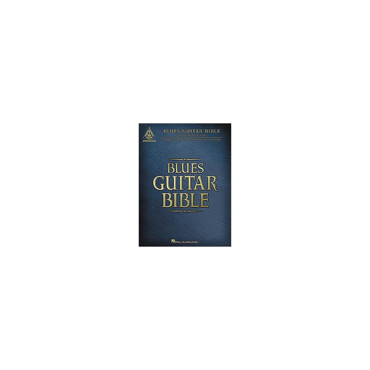Hal Leonard Blues Guitar Bible Tab Book