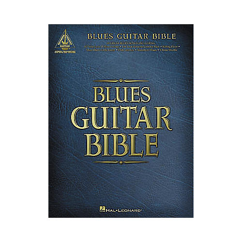 Hal Leonard Blues Guitar Bible Tab Book