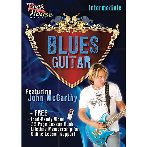 Hal Leonard Blues Guitar Intermediate Featuring John McCarthy