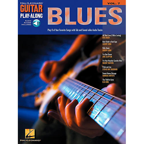 Hal Leonard Blues Guitar Play-Along Series Volume 7 Book with CD