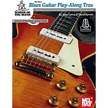 Mel Bay Blues Guitar Play-Along Trax Book and CD