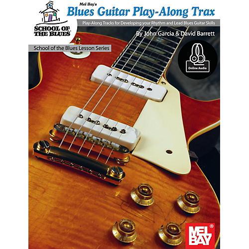 Mel Bay Blues Guitar Play-Along Trax Book and CD