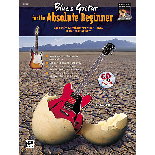 Alfred Blues Guitar for the Absolute Beginner Book/CD Set