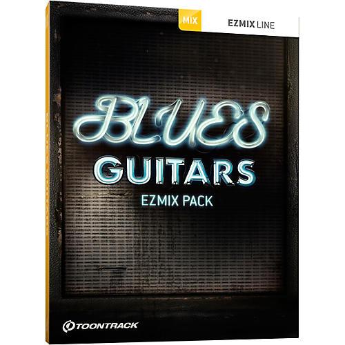 Toontrack Blues Guitars EZMix Pack