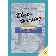 Schott Blues Harping Schott Series Softcover with CD
