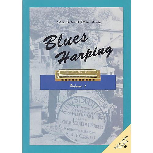 Schott Blues Harping Schott Series Softcover with CD