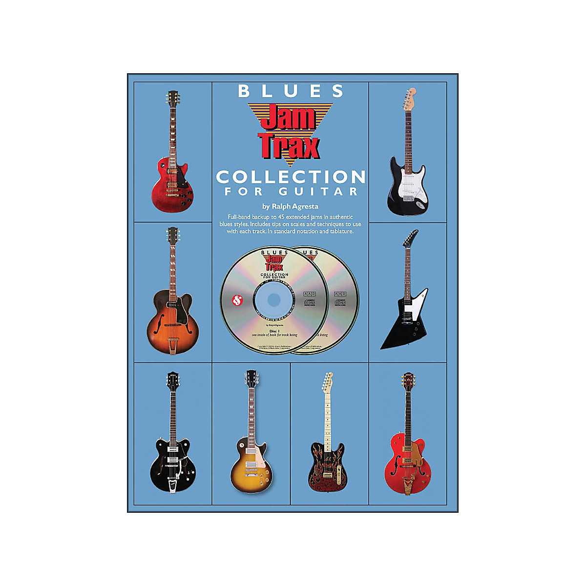 Music Sales Blues Jamtrax Collection - Book/2-CD Pack