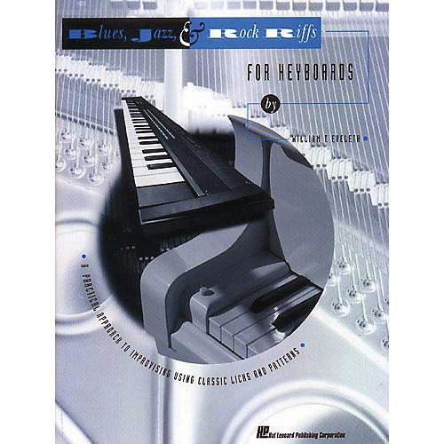 Hal Leonard Blues, Jazz, and Rock Riffs for Keyboard