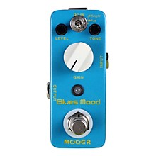 Mooer Blues Mood, Classic Blues Overdrive Guitar Effects Pedal