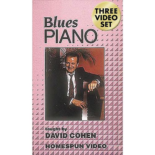 Hal Leonard Blues Piano - 3-Video Set