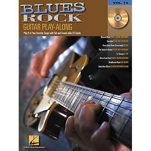 Hal Leonard Blues Rock Guitar Play-Along Series Book with Online Audio