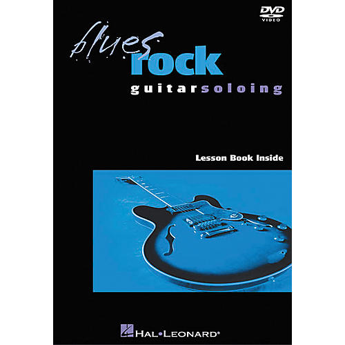 Hal Leonard Blues Rock Guitar Soloing (DVD)