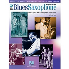 Hal Leonard Blues Saxophone Sax Instruction Series Softcover with CD Written by Dennis Taylor