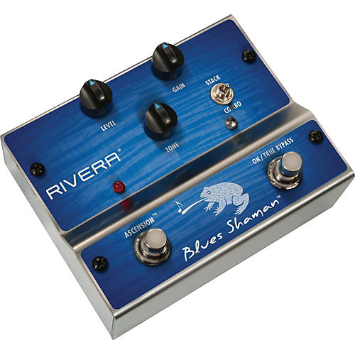 Rivera Blues Shaman Overdrive Guitar Effects Pedal