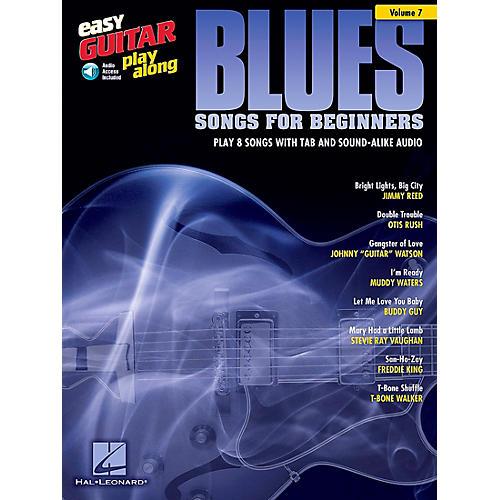 Berklee Press Blues Songs For Beginners - Easy Guitar Play-Along Volume 7 Book/CD
