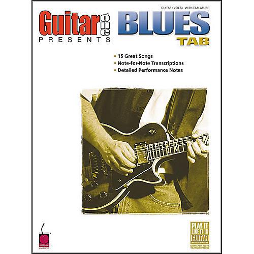 Cherry Lane Blues Tab Book