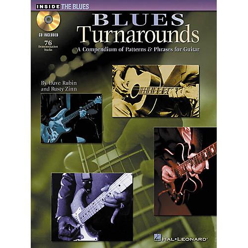 Hal Leonard Blues Turnarounds (Book/CD)