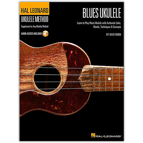 Hal Leonard Blues Ukulele Method (Book/Online Audio)
