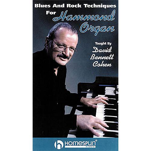 Hal Leonard Blues and Rock Techniques for Hammond Organ