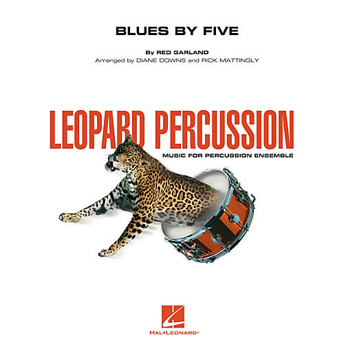 Hal Leonard Blues by Five Concert Band Level 3 Arranged by Diane Downs