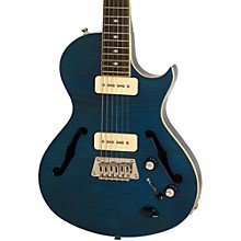 Blueshawk Deluxe Semi-Hollowbody Electric Guitar Midnight Sapphire