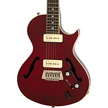 Blueshawk Deluxe Semi-Hollowbody Electric Guitar Wine Red