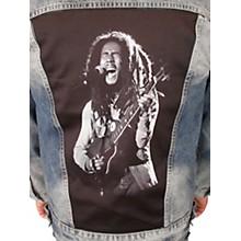 Dragonfly Clothing Bob Marley - Rasta - Womens Denim Jacket