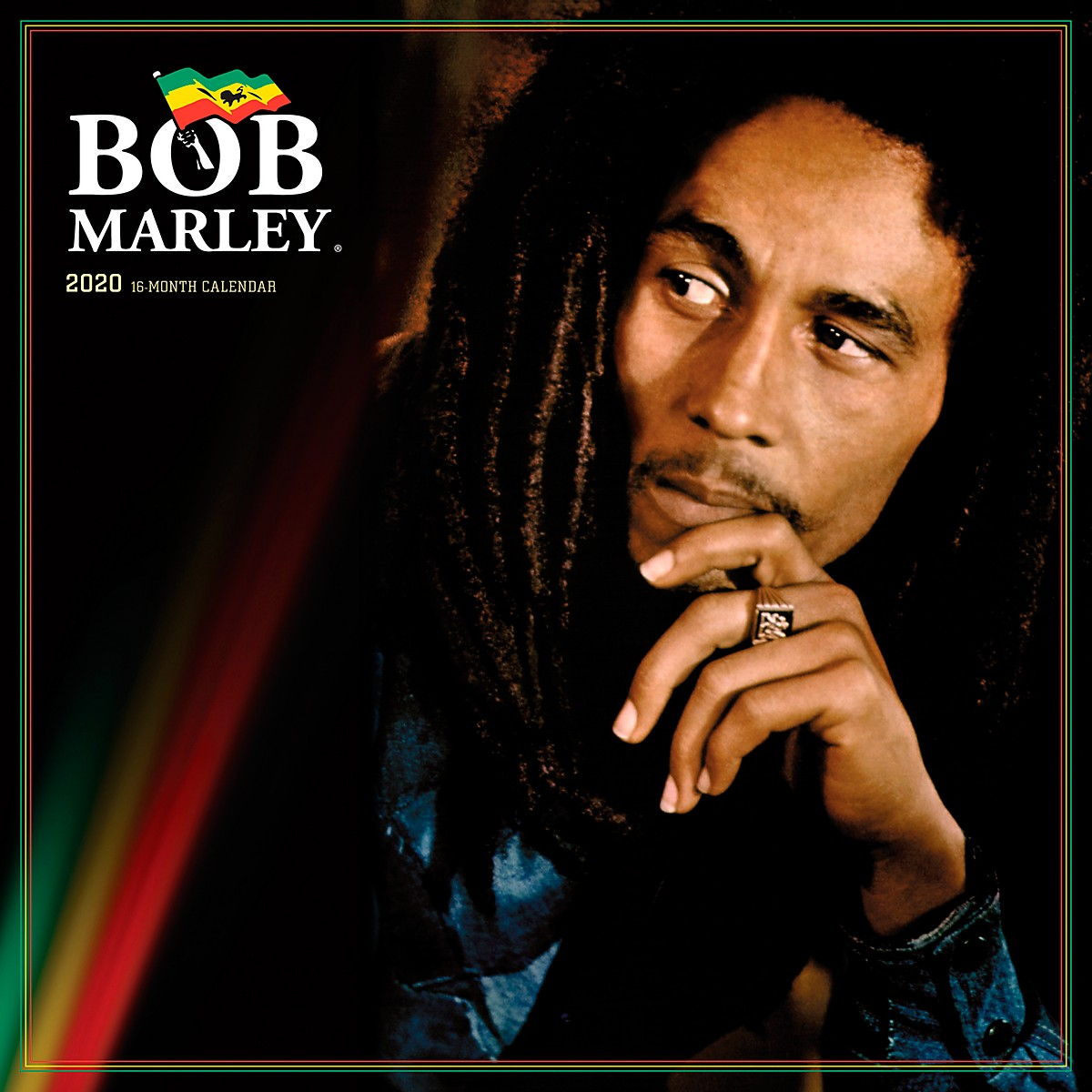 Browntrout Publishing Bob Marley 2020 Calendar